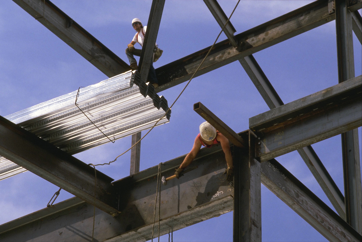 Fall protection; an essential element of safety training